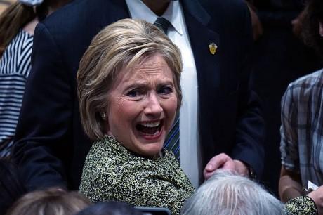 Hillary Clinton - Photo by Nathania Johnson
