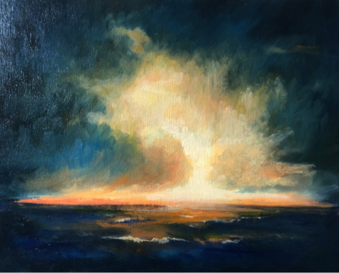Bid to Win Piece #2, Dark Storm, by Dale Kirschenman; Value $600