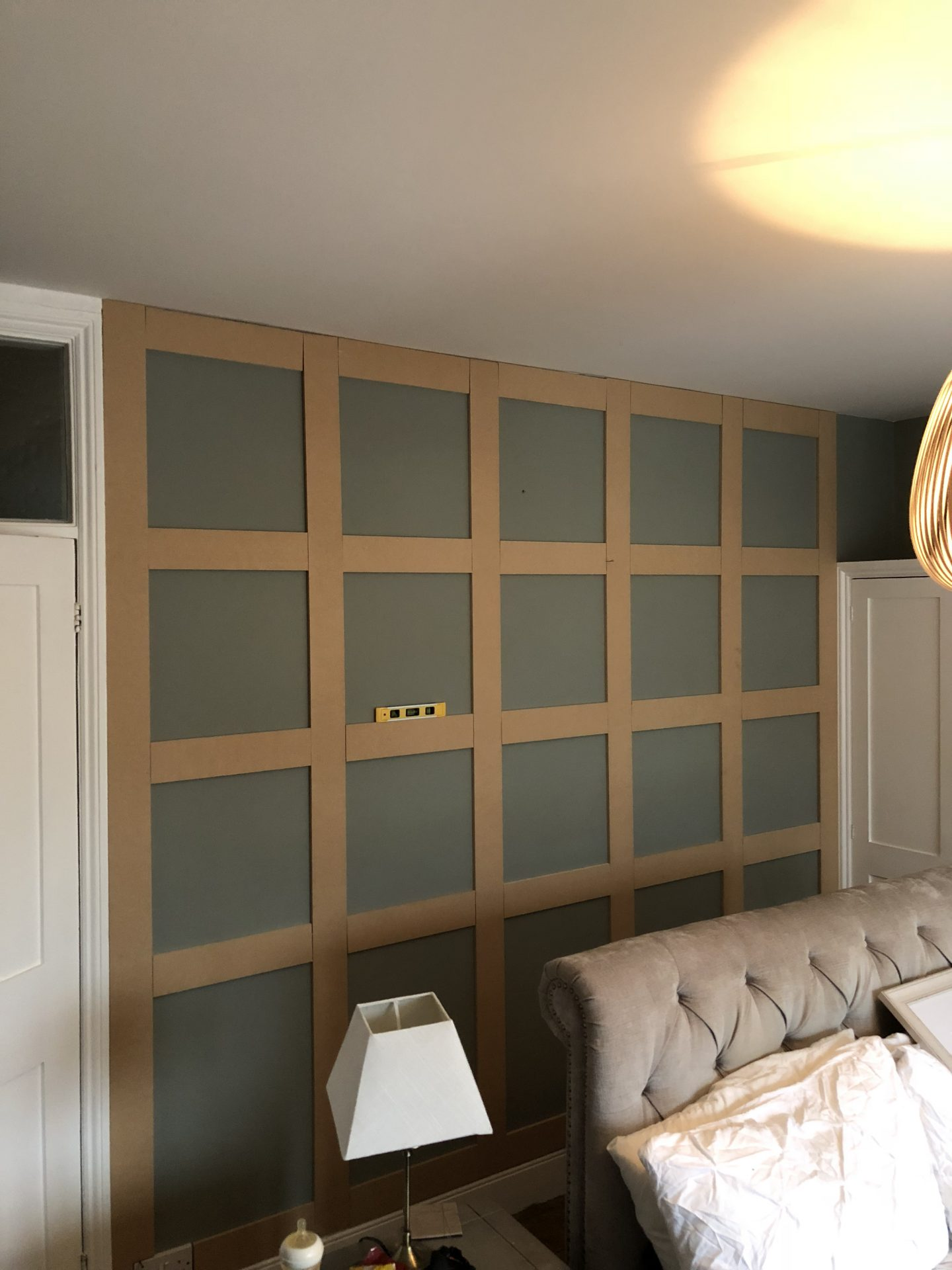 Easy Way To Create Wood Paneling End Of The Row