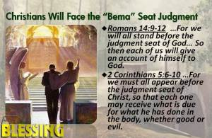 Image result for image of the bema seat judgment