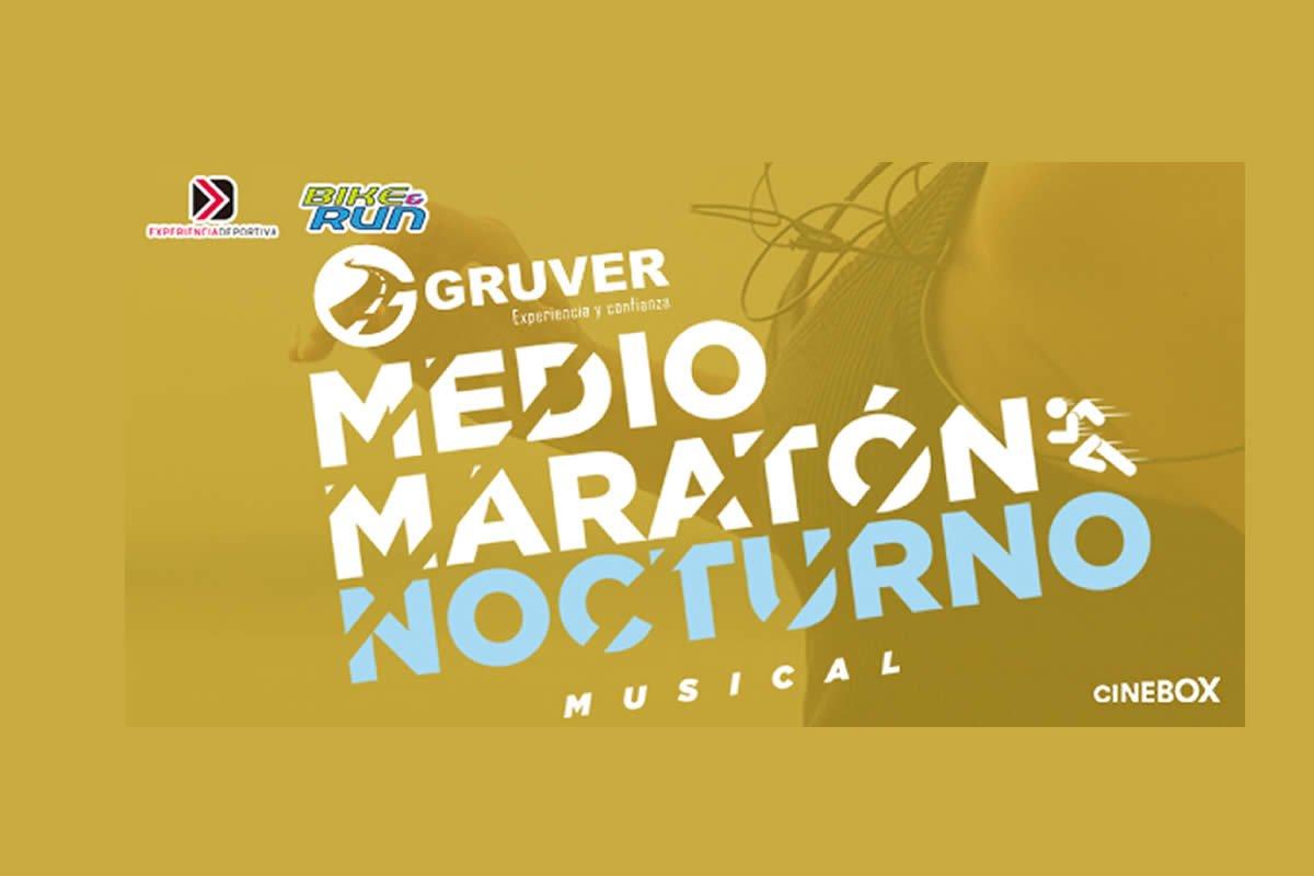 Medio Maratón Nocturno Musical Gruver 2019