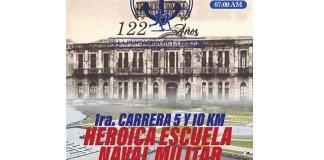 Carrera 5 y 10 km Heroica Escuela Naval Militar 2019
