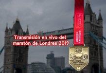Transmisión en vivo del maratón de Londres 2019