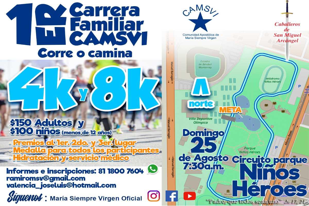 Carrera Familiar CAMSVI 2019