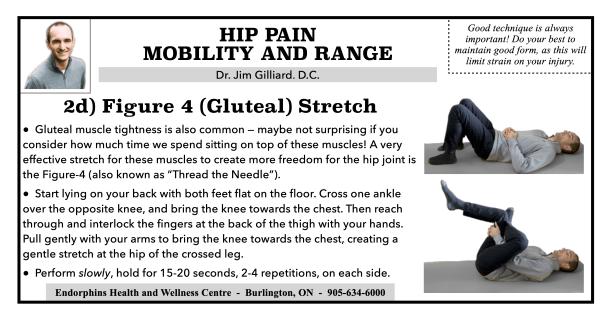 Figure 4 Gluteal Stretch