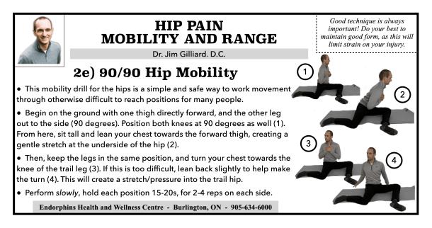 Hip Mobility 90-90