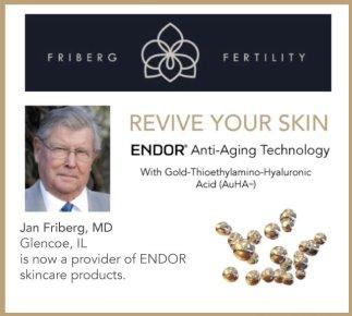 endor anti-aging skincare from feinberg fertility