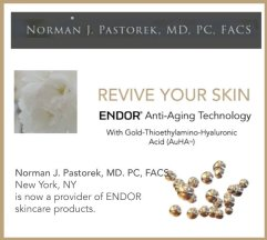 endor anti-aging skincare from pastor