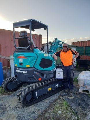 Sunward Excavator NZ