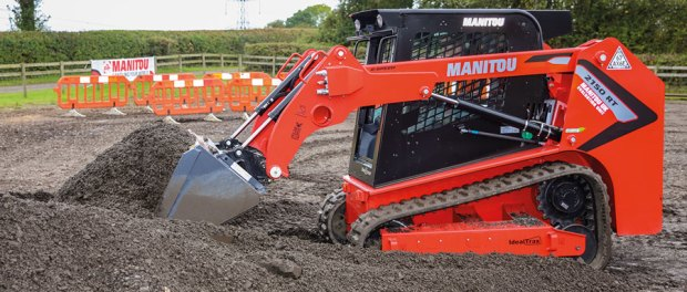 Manitou Skid Loader