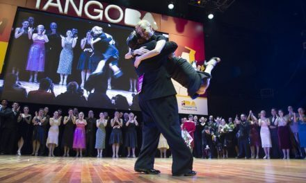 Tango de Pista category winners at the 2016 mundials