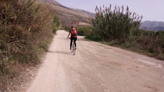Unpaved stretch near Mursi