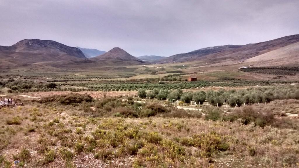 The view back towards Butrint, near Qafe Botë
