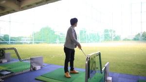 ゴルフビデオ撮影