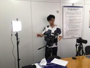 サプライズムービー2カメ照明機材