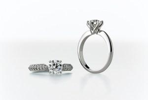 MIKIMOTO 婚約指輪 永久保証