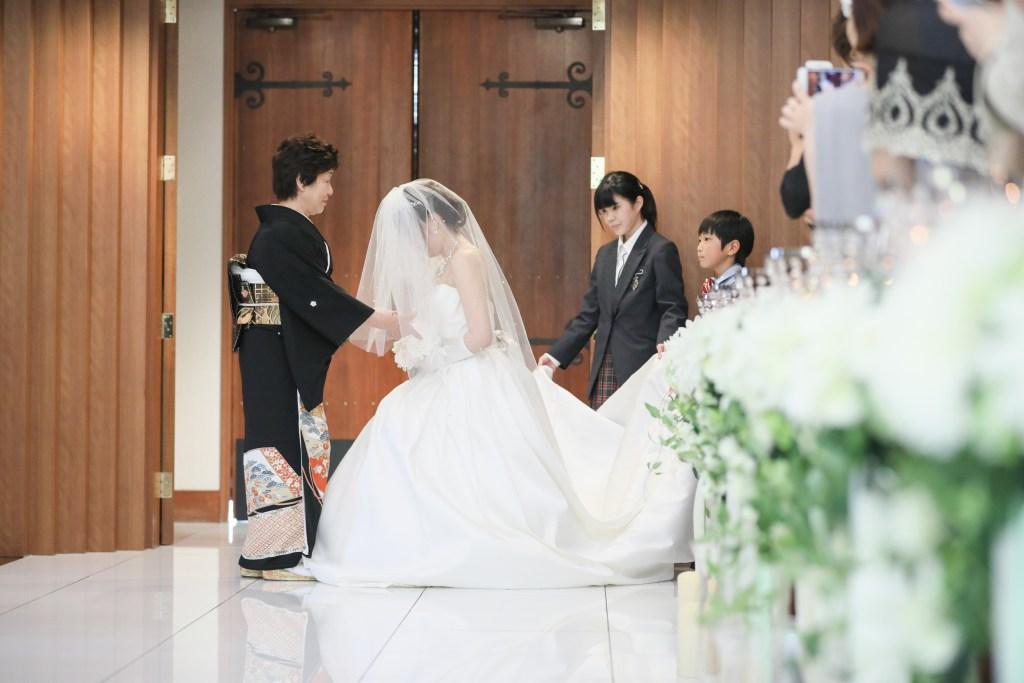 ホテルベルクラシック東京チャペルベールダウン