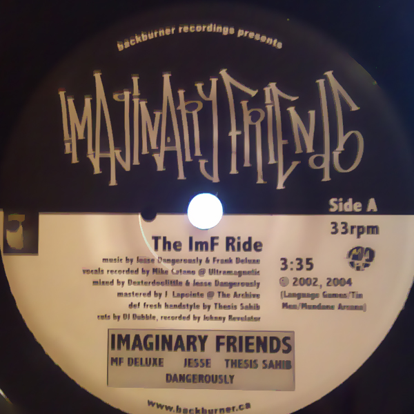 Imaginary Friends - Cover