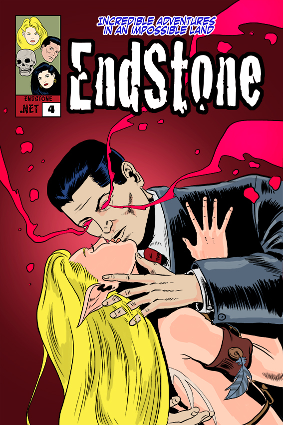 Endstone Issue 4 Cover