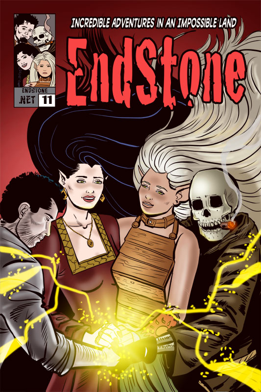 Issue 11 Cover Endstone