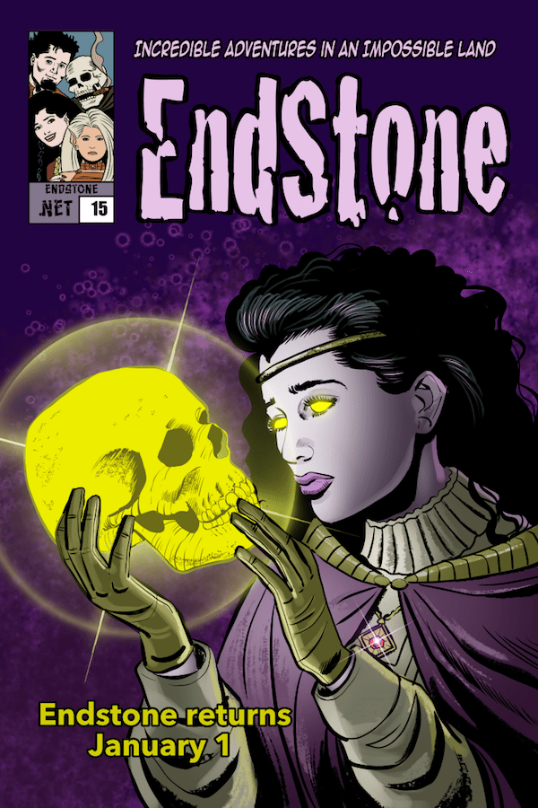 15.00 Endstone Fantasy Webcomic