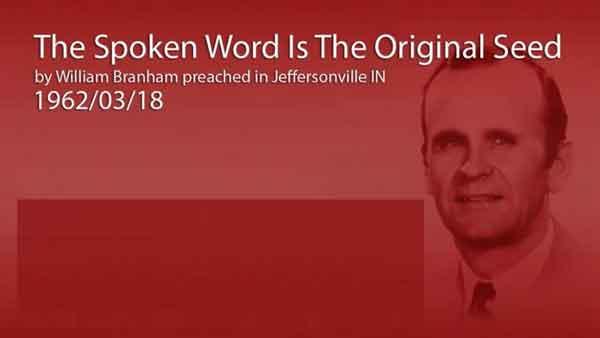 spoken word is the original Seed