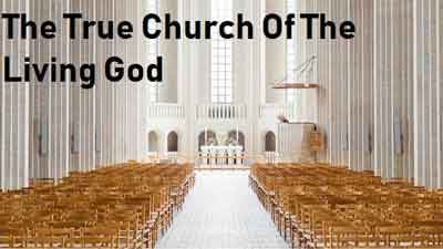 Five Signs of The True Church Of The Living God