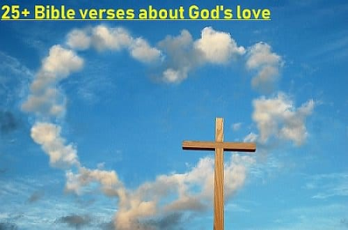 25+ Bible verses about God's love
