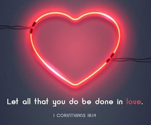 Bible verses about loving others Unconditionally
