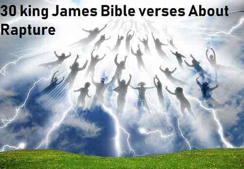 rapture bible verses