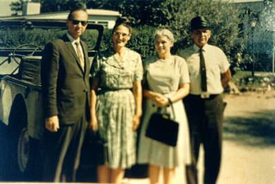 William Marrion Branham and Family