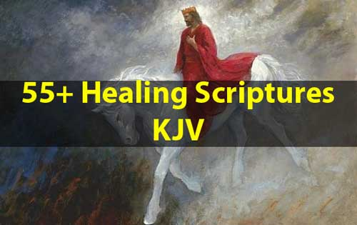 Healing Scriptures KJV