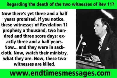 What is the gifts in Revelation 11?