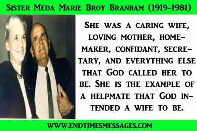 Sister Meda Marie Broy Branham (1919-1981)