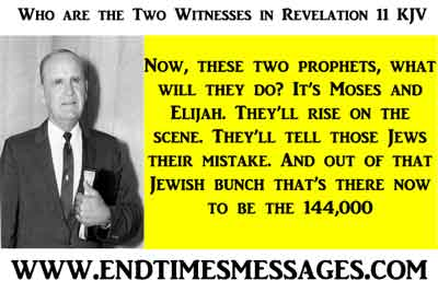 Who are the Two Witnesses in Revelation 11 KJV