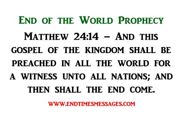 End of the World Prophecy