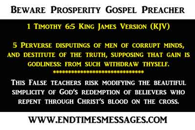 prosperity gospel preacher