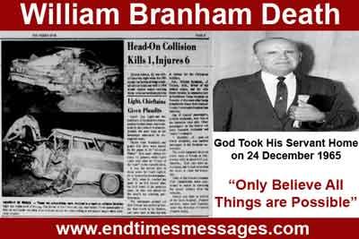 william branham death