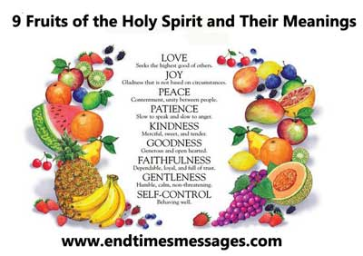 9 Fruits of the Holy Spirit and Their Meanings