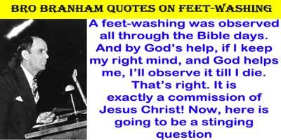 feet washing