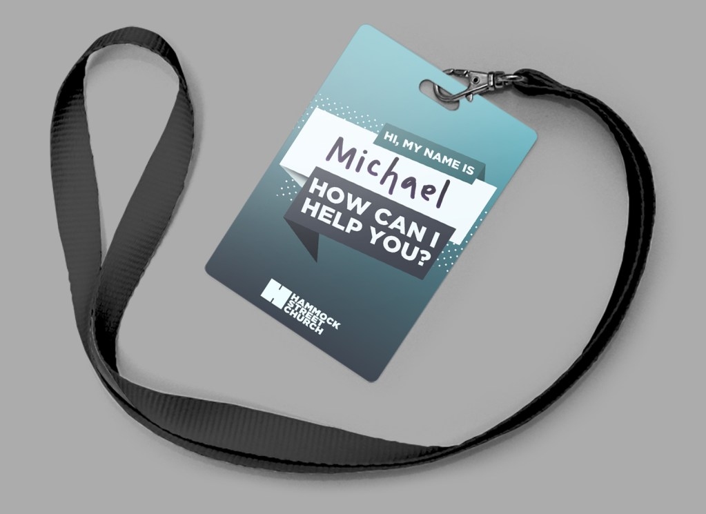 Church Volunteer Badge