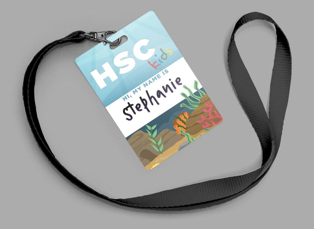 Children's Ministry Volunteer Badge