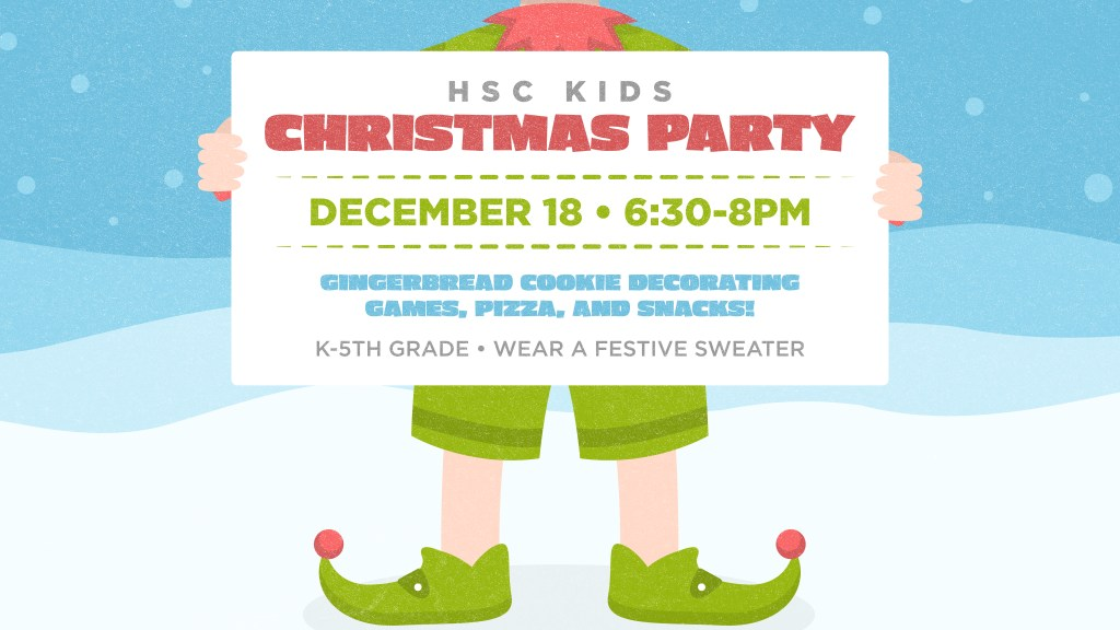 Children's Ministry Christmas Party