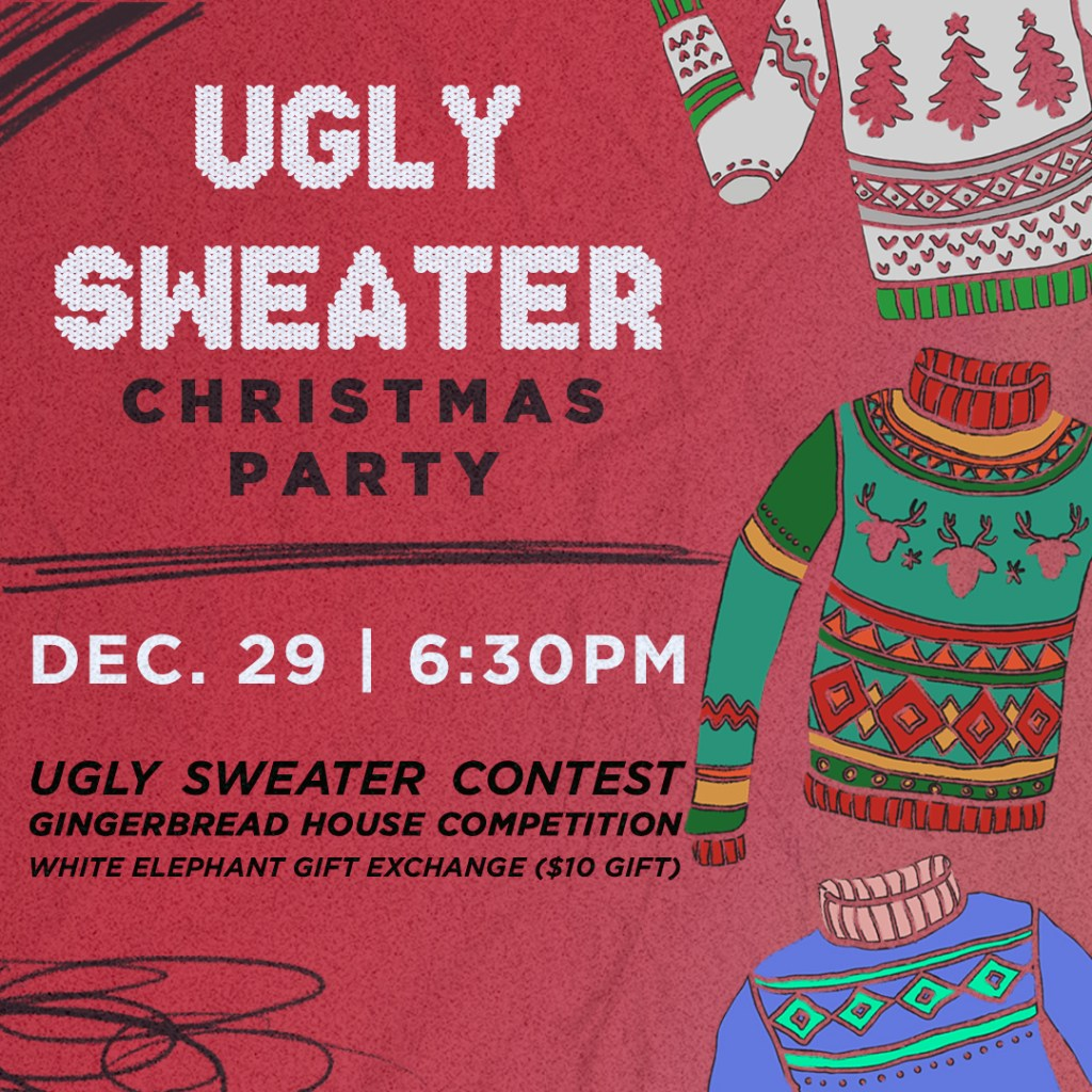 Ugly Sweater Christmas Party (Youth)
