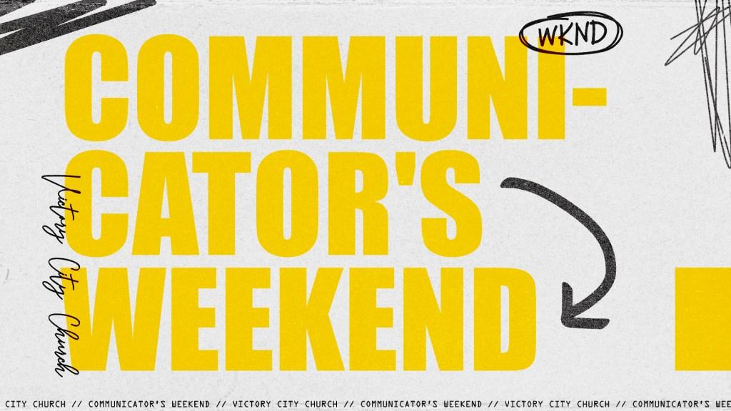 Communicator's Weekend - Main Screen
