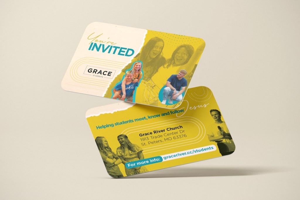 Student Invite Card