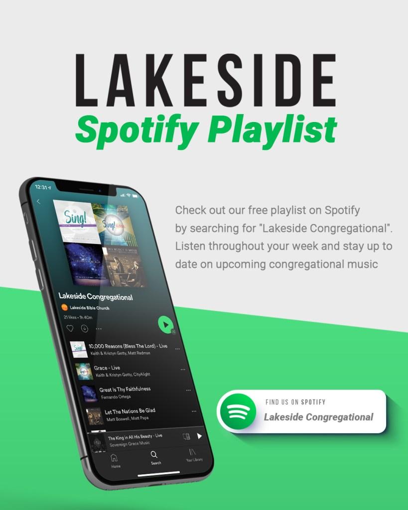 Lakeside social post