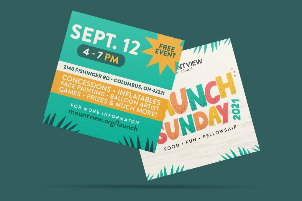 Launch Sunday Mockup