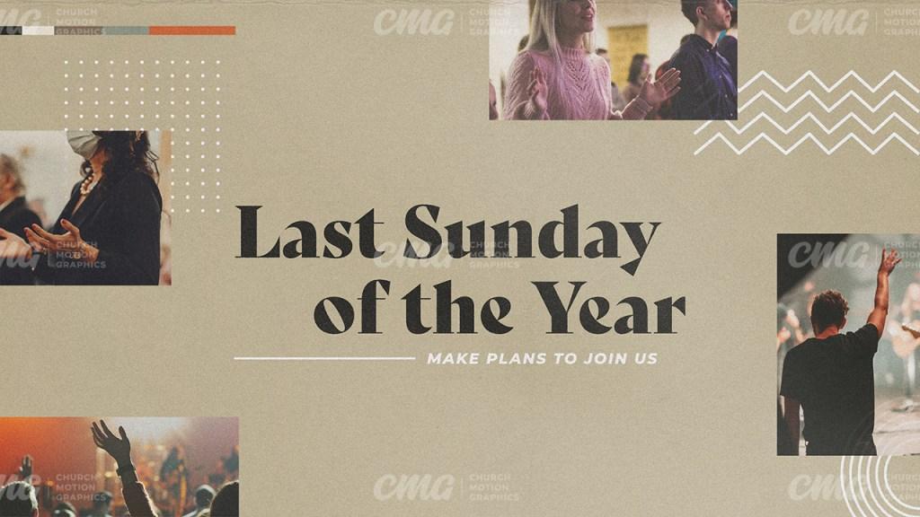 Last Sunday Of The Year Beige White Shapes Photos-Subtitle