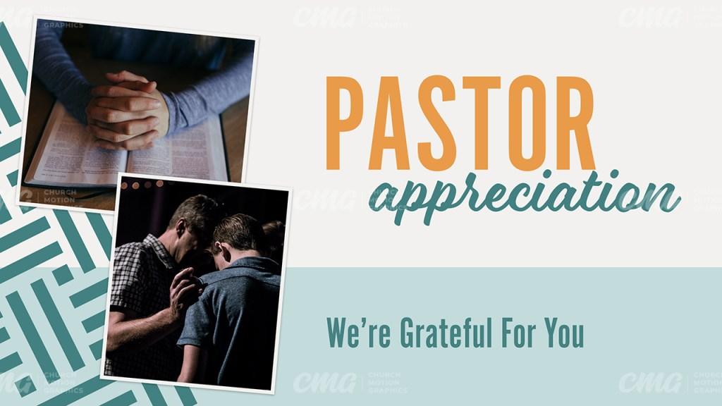 Pastor Appreciation Clean Bright Pictures-Subtitle